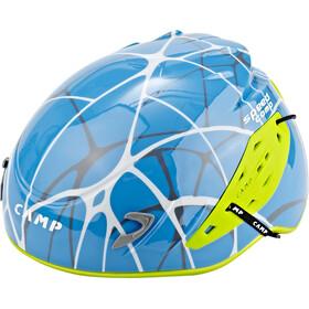 Camp Speed Comp Helm geel/blauw